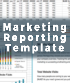 6 Marketing Metrics Reporting Template